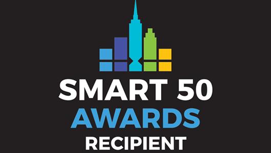 Smart 50 Awards Recipient.