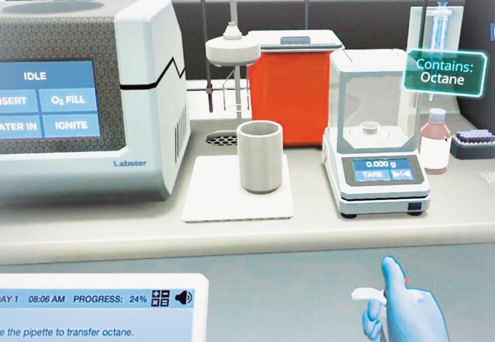 Virtual lab.