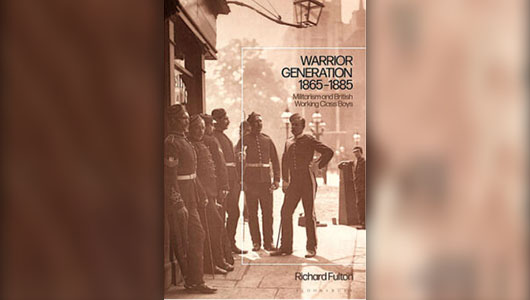 Book cover: Warrior Generation, 1865-1885, by Richard Fulton.
