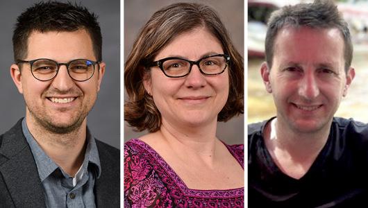 Dylan Bugden, Erica Crespi, and Alexander Fremier.