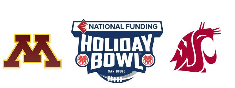 Washington State University vs Minesota in Holiday Bowl