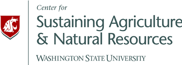 Logo for the Center for Sustaining Agriculture and Natural Resources at Washington State University