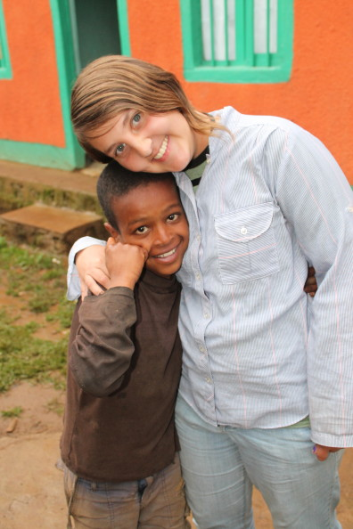 Jessica Collins in Ethiopia