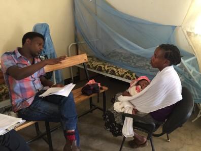Birhanu (INSPIRE field crew member) in Hawassa, Ethiopia