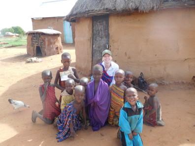 Jennifer Roulette in Tanzania