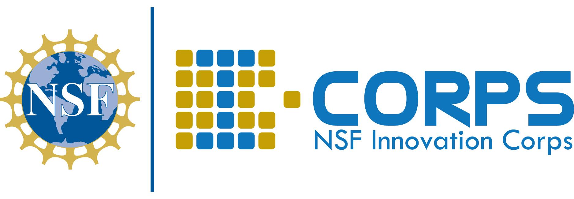 National Science Foundation (NSF) Innovation Corps (I-Corps) logo