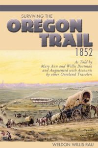 Surviving the Oregon Trail, 1852 cover