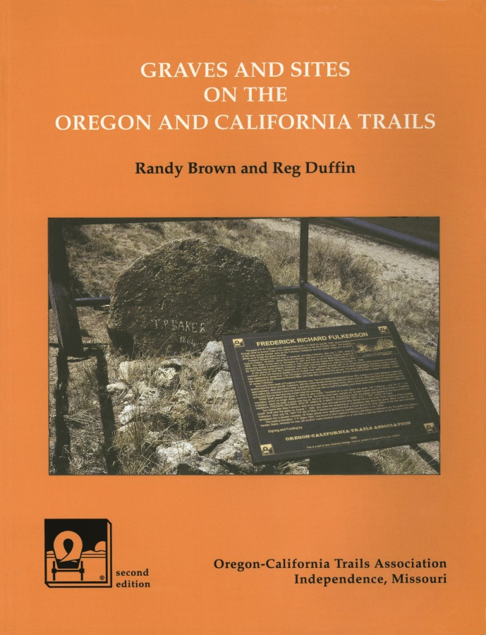 Graves and Sites on the Oregon and California Trails cover
