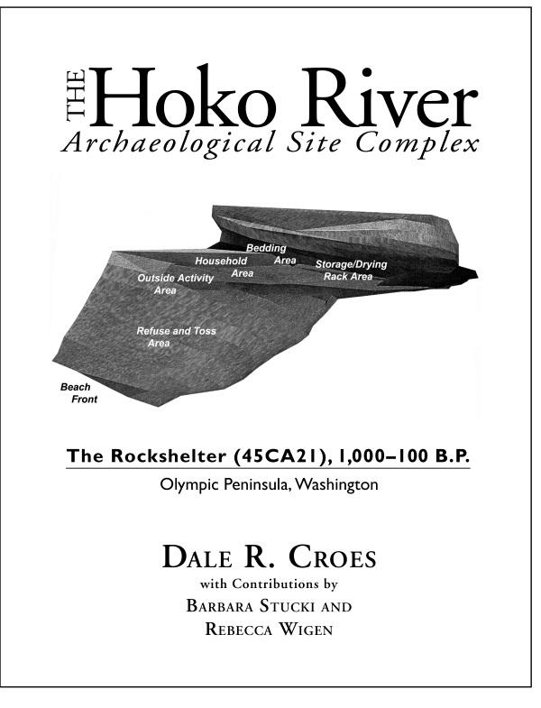 Hoko River Rockshelter cover