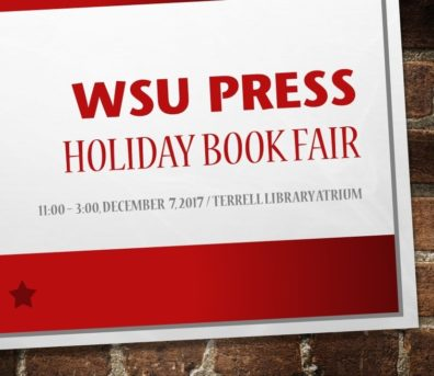 WSU Press Holiday Book Fair poster