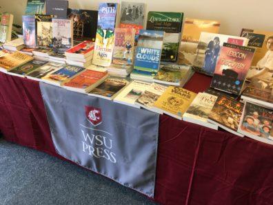 table of WSU Press books
