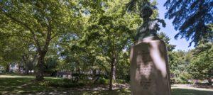 Statue of Reverend Mark Matthews in Seattle's Denny Park