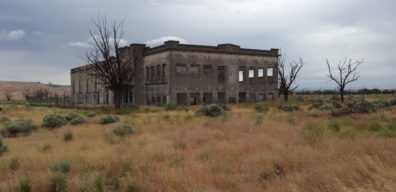 Photo of Hanford high school builiding remains