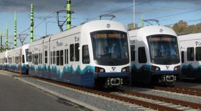 Photo of Sound Transit light rail trains