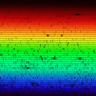 Sun Spectra in the visible