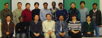 Juming Tang Research Group 2005