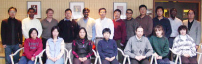 Juming Tang Research Group 2003