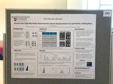 WSU Academic Showcase 2019 | Micro-Nano-Bio Systems Lab