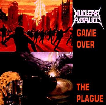 "In the mid-eighties, nuclear war imagery became common in rock music videos. One student doing research for me reported that MTV was showing an average of one nuclear bomb image per hour. This album by the ""speed metal"" group Nuclear Assault featured several songs dealing with nuclear war."