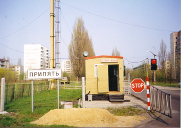 Entering Pripyat April 26, 1998
