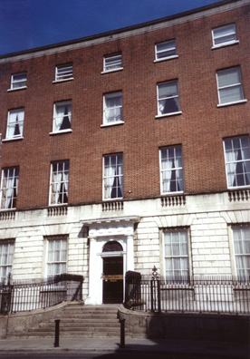 DUBLIN: Just down the block from our bed and breakfast on Denmark Street was the Jesuit Belvedere College where Joyce (and Stephen) studied, and considered becoming a priest before turning to literature. In a pivotal scene in Portrait Stephen has an epiphany on these steps as he realizes he lacks the priestly vocation.