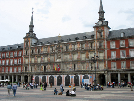 MADRID: This palace has traditionally been used by royalty viewing public events and performances in the plaza below. The mural paintings on the facade were added only in 1993.