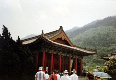 HUAQING TEMPLE: Visit to Huaqing Hot Spring, where the last T'ang emperor frolicked with his favorite concubine, Yang Guifei, while the empire crumbled, 8th century CE.