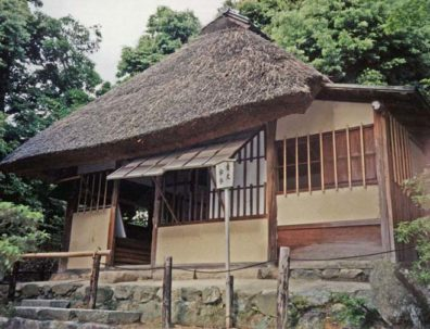 KYOTO: One of two tea houses on the temple grounds designed by the 16th century: inventor of the tea ceremony, Sen-no-Rikyo.