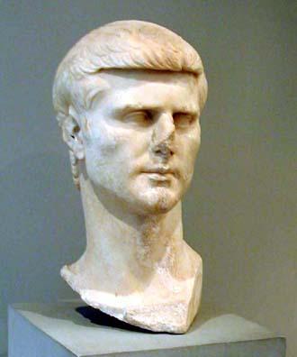 BERGMA MUSEUM: Unidentified portrait bust.