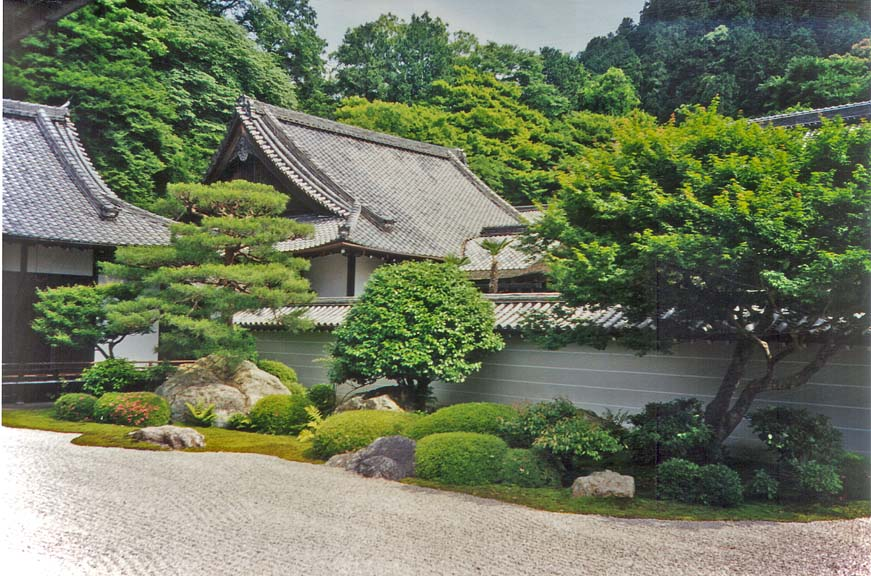 KYOTO: The Nanzen-ji Temple was a great way to end our walk—by far the most beautiful and restful temple we had been in, arranged so that beautiful natural views are available from each room.