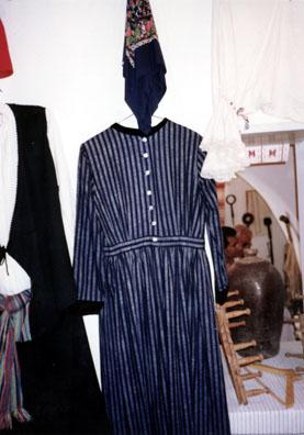 NAXOS: Traditional costumes in the Apirathos folk museum.