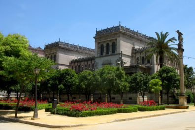SEVILLA: The Provincial Archaeological Museum contains a truly stunning collection of artifacts from the region, especially from the Phoenecian and Roman eras. Built between 1911 and 1919 for the Ibero-American Exposition of 1929 as an exposition hall for fine arts. It was converted to its present use in 1941.
