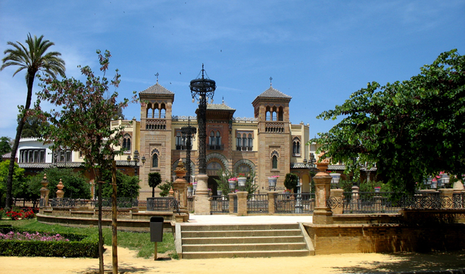 SEVILLA: The Museum of Popular Arts and Costumes has a modest collection of costumes and a number of installations of workshops and rooms from the 19th and early 20th centuries. Built in 1914 for the Iberoamerican Exposition.