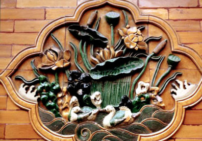 BEIJING: Porcelain flowers and a pair of ducks, symbols of lasting love.