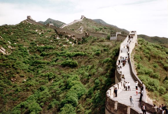 GREAT WALL: Another view of the wall.