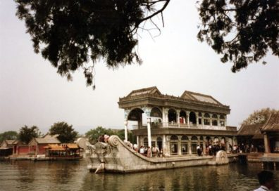 SUMMER PALACE: The fabled Marble Boat, whose expense was reputedly paid for by funds slated for the imperial Navy, symbol of the Empress Dowager's decadence.