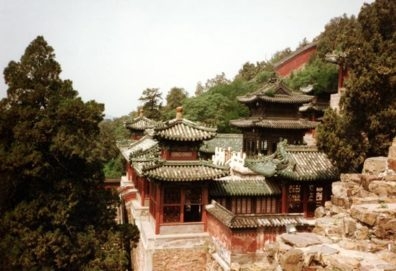 SUMMER PALACE: More palace buildings.