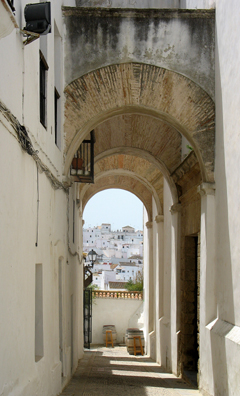 VEJER DE LA FRONTERA: Vejer is a typical old Andalucian town, with narrow, winding streets.