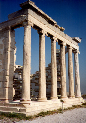 ATHENS: Doric columns