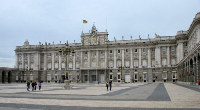 MADRID: Palacio Real, the seat of the kings of Spain, including the current monarch who visits on state occasions. Although it contains several government offices, most of it is a museum open to the public.