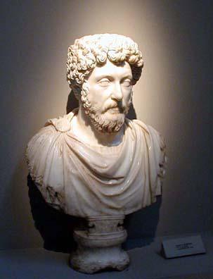 SELÇUK MUSEUM: And emperor Marcus Aurelius.