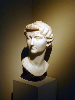 SELÇUK MUSEUM: There are also busts of a couple of imperial wives: Livia Drusilla, wife of Tiberius and mother of Nero.