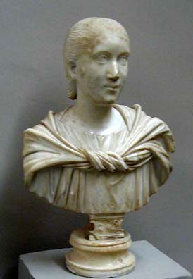 SELÇUK MUSEUM: And the much less well-known Julia Paula, first wife of the deranged Emperor Elagablalus.