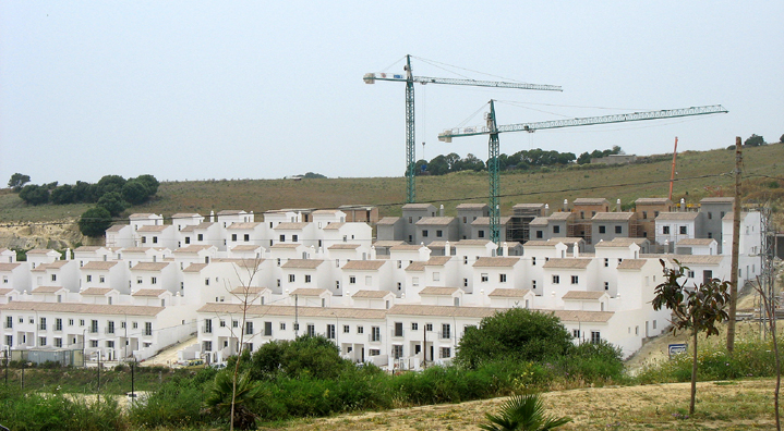 VEJER DE LA FRONTERA: Vejer seems to be booming, judging by the amount of new construction. Unfortunately much of the new architecture is uniform and characterless.