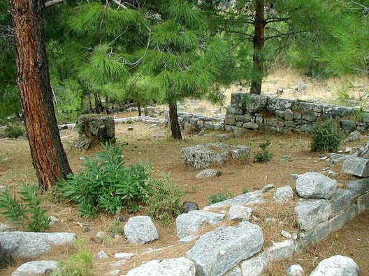 PRIENE: This modest house bore a sign indicating that Alexander the Great lived here for a time.