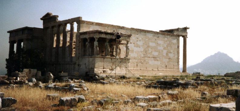 ATHENS: The Erectheum.