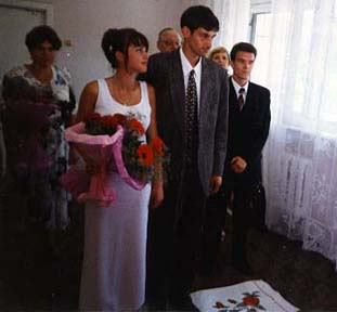 Sasha's wedding, June 30, 1999.