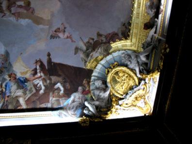 MADRID: Fresco by Giambattista Tiepolo.