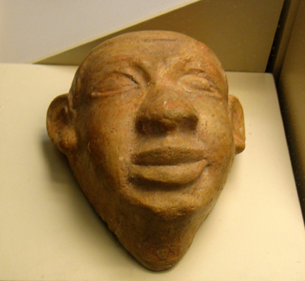 CADIZ: Heads of Africans, 4th–3rd century BCE. In the Museum of Fine Arts and Archaeology, Cadiz.