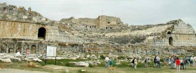 MILETUS: Little is left of the famed ancient city of Miletus except its vast Roman theater.